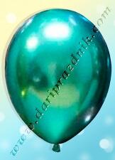 200106 ШАР С ГЕЛИЕМ - ЛАТЕКС ХРОМ (ЗЕРКАЛЬНЫЙ) БЕЗ РИСУНКА - ЗЕЛЕНЫЙ