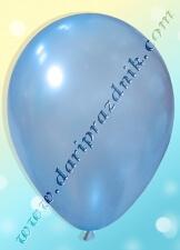 200207 ШАР С ГЕЛИЕМ - ЛАТЕКС ПЕРЛАМУТР БЕЗ РИСУНКА - НЕЖНО-ГОЛУБОЙ (ПОЛУПРОЗРАЧНЫЙ)