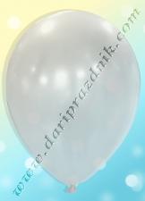 200200 ШАР С ГЕЛИЕМ - ЛАТЕКС ПЕРЛАМУТР БЕЗ РИСУНКА - БЕЛЫЙ ЖЕМЧУГ (ПОЛУПРОЗРАЧНЫЙ)